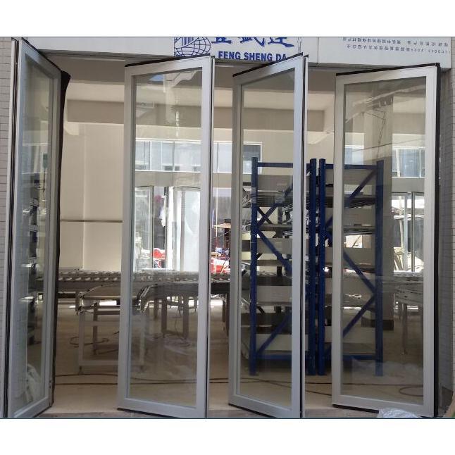 玻璃活动隔断,玻璃折叠门,玻璃吊趟门图片